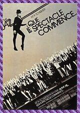 Carte Postale Affiche de Film - QUE LE SEPCTACLE COMMENCE