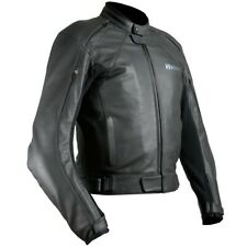 """WEISE 'HYDRA' MOTORCYCLE JACKET CLASSIC STYLE LEATHER JACKET SIZE UK 44"""""""