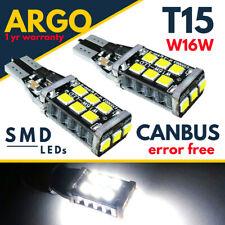 For Vauxhall Vivaro Rear Fog Light Bulbs 2014-On Led White Xenon Foglight 12v