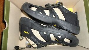 Keen Youth Kanyon Black Shoes Size 3 Unisex Waterproof New NIB