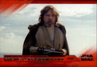 2018 Topps Star Wars The Last Jedi Series 2 Red Parallel Singles/199 -Pick Cards