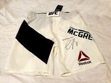 "Conor McGregor Signed UFC Trunks Shorts Proper Twelve  ""NOTORIOUS"" Inscription"