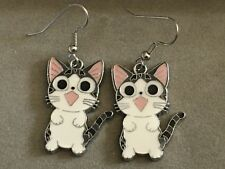 YAMADA CHI  Earrings Surgical Hook New Anime CAT Sweet Home (B)