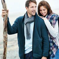Samuel Windsor Men's Country Microfibre Fleece Jacket Winter Coat Sizes S-XXXL