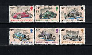 Gr Britain; Isle of Man 1995: #643-648 Racing Cars, Sports NH:Lot#2/16