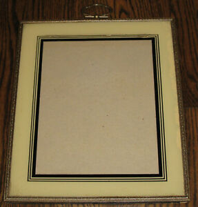 "VINTAGE ART DECO PICTURE FRAME-REVERSE PAINTED-10"" X 12"""