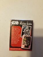 New in the box Star Wars Resistance Vs. First Order Playing Cards brand new