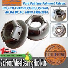 Ford Front Wheel Bearing Hub Nut Falcon AU BA BF Fairmont Fairlane LTD Territory