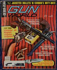 Magazine GUN WORLD April 1978 !!! MOSSBERG Model 377 Plinkster .22LR RIFLE !!!