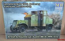 Master Box 72007 1:72nd scale WW1 British Armoured Car Austin MKIII