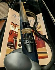 YAMAHA SV-110 Silent Electric Violin, with case & 2 bows MINT