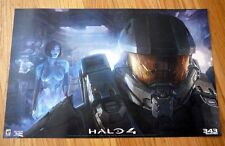 HALO 4 sdcc 2012 Exclusive Limited Original 343 Industries POSTER xbox 360