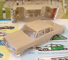 1960s Foreign Faller Opel Diplomat Slot Car Body Lt.Tan
