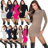 Top Women Jumper Mini Dress Clubbing Party Ladies Long Pullover Size 6 8 10 12
