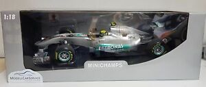 MINICHAMPS 1/18: 110110078 Mercedes Gp Petronas F1 Team N.Rosberg Showcar 2011