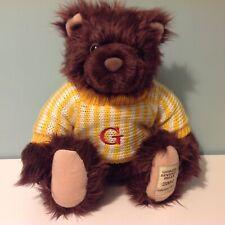 "Giorgio Beverly Hills 2004 Collectors Bear Soft Toy Teddy Bear Plush 12"""