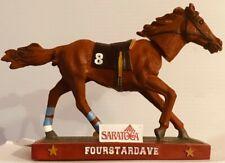 "Saratoga Race Course 2013 FOURSTARDAVE Bobblehead ""Sultan of Saratoga"" - NEW"
