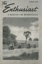 1950 August - The Enthusiast - Lancaster, Wisconsin Harley-Davidson Dealer Rally