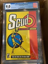 Scud: The Disposable Assassin #1 CGC 9.0 Key Issue First Print Fireman Press