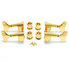 Grover Gold 2+2 Headstock Sealed Mini Bass Tuners Machine Heads 144G