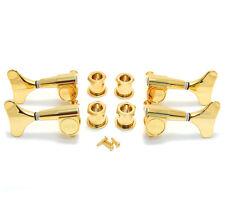 Grover Gold 2+2 Headstock Sealed Mini Bass Tuners Machine Heads 144G