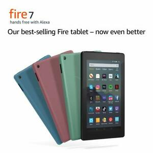 """Amazon Kindle Fire 7"""" Tablet 16GB Wi-Fi with Alexa (9th Gen) LATEST 2019 Model!"""