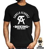 Canelo Alvarez T shirt Boxing Champion GYM Training Workout NEW Mens Tee S - 3XL