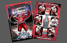 Rare Original CAROLINA HURRICANES 2006 Stanley Cup Champions 2 POSTER COMBO
