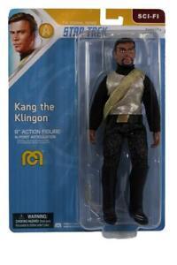 "Mego Star Trek Wave 13 - Kang the Klingon 8"" Action Figure"