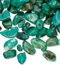 50 Grams Turquoise Mini Chips Undrilled For Inlay & Embellishment