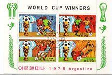 Corea Deportes Mundial de Futbol Argentina año 1978 (CY-72)