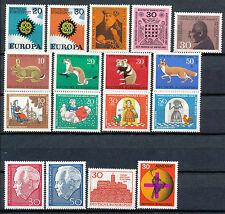 Bundespost jaargang 1967 postfris