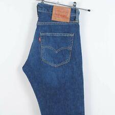 Levis 501 Straight Leg Jeans in Dark Blue Red Tab W29 L32