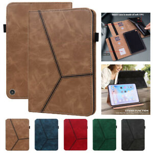 For Amazon Fire HD10/HD10 Plus 2021 Tablet Luxury Leather Case Wallet Flip Cover