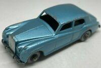 Matchbox Lesney No 44a Metallic Blue Rolls Royce Silver Cloud - GPW