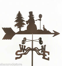 Frosty the Snowman Weathervane - Christmas, Winter, Vane, w/ Choice of Mount
