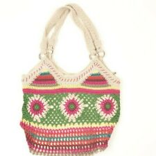 THE SAK Crochet Boho Bag Multi-color