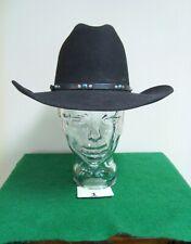 Eddy Bros. by Christ Eddy  Western Black Hat size 7 1/8 Black U.S.A. (item 1)