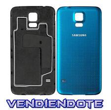 Tapa Trasera Original De Bateria Para Samsung Galaxy S5 i9600 Negro Oro Blanco