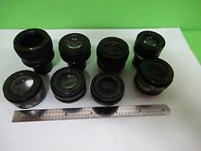FOR PARTS MICROSCOPE PARTS NIKON EYEPIECES OPTICS AS IS BIN#11-A-09