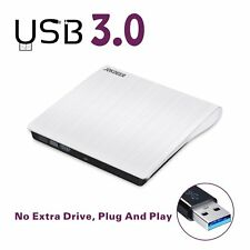 USB 3.0 External DVD RW Drive CD Burner Drives Ultra Slim Portable For Laptop/PC