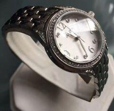 Ladies Genuine Bulova Diamonds 96L205 Designer Watch Steel Silver