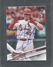 2017 Topps Update #US281 Luke Voit Signed Rookie Card (Cardinals, Yankees)  A2