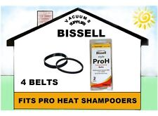 BISSELL PROHEAT BELTS 2 PACKS 4 BELTS