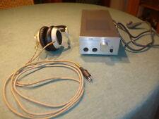 Stax Kopfhörer SR 5 und Transistorverstärker SRM