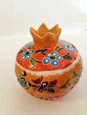 Hand Painted Armenian Ceramic Pomegranate Flower Home Decoration Vases Hand Made