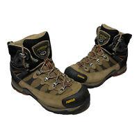 Women's Asolo Stynger GTX Goretex Beige Black Waterproof Hiking Trail Boots Sz 8