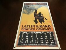 Vintage/Antique Dated Laflin & Rand Powder Company, Porcelain Metal Advertising