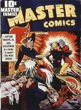 Master Comics #22 Photocopy Comic Book, Captain Marvel Jr. Origin, Bulletman