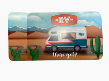 2 Camping Trailer Camper Rv Placemats Reversible Microban Rv There Yet?